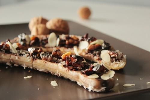 dietetycznie-pieczone banany
