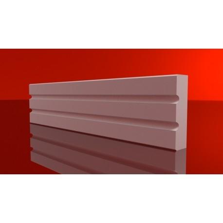 Styropianowe listwy elewacyjne LS18 to nowoczesne profile zewnętrzne, które w ciekawy sposób udekorują ściany budynku. Te listwy kapitalnie komponują się z panelami elewacyjnymi. Dostępne dekorplanet.pl