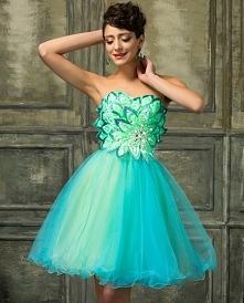 Sukienka tiulowa z motywem ...
