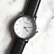 Klasyczny prosty zegarek - ...