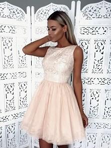 Sukienka nude Illuminate <3 <3 <3