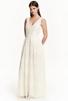 Koronkowa sukienka maxi H&a...