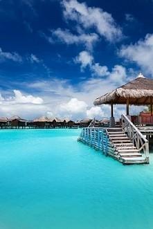 Błękitna laguna - Bora Bora :)