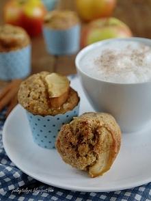 Pyszne i zdrowe muffiny. Świetne na śniadanie i nie tylko.  Przepis na blogu,...