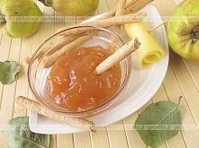 Przecier z pieczonych jabłek