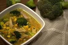 Zupa brokułowa. Przepis w komentarzu