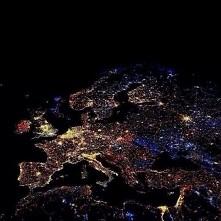 Europa o północy w sylwestr...