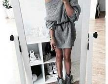 Sweterek-sukienka - Kliknij w zdjęcie aby zobaczyć więcej