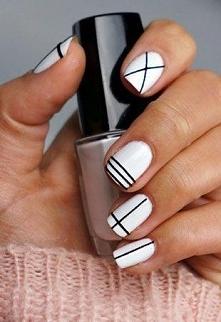 biel i czerń