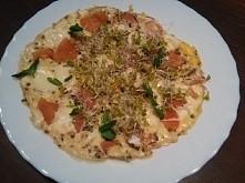 Co powiecie na dietetyczny i bardzo lekki omlet po włosku? Taka pizza w wersj...