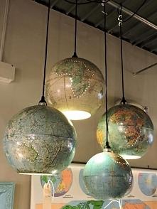 """lampa z globusu (ps. Zapraszam na mój kanał """"furello"""" znajdziesz ta..."""