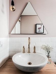 Dobry pomysł na lustro do łazienki :D