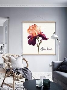Obraz na płótnie Flower 100 x 100 cm