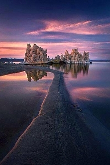 Sunsets Mono Lake, California