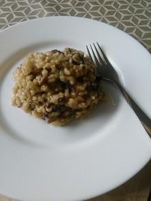 risotto z pieczarkami