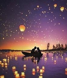 Festiwal Światła w Tajlandii piękne *.*