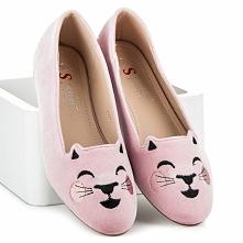 Welurowe balerinki Kitty dostępne w 4 najmodniejszych kolorach :)
