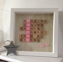 DIY prezent dla mamy :)