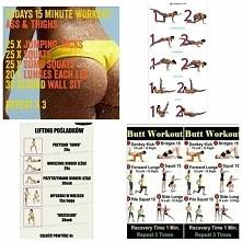 Tutaj zestawy ćwiczeń o które część z was prosiła proszę bardzo :) :*
