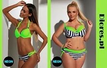 Wyróżnij się na plaży. Zobacz jak pięknie możesz wyglądać w neonowym stroju od Krisline. Znajdziesz go na naszej stronie diores.pl