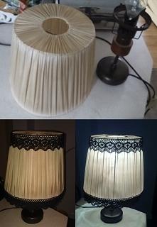 Metamorfoza starej lampki c...