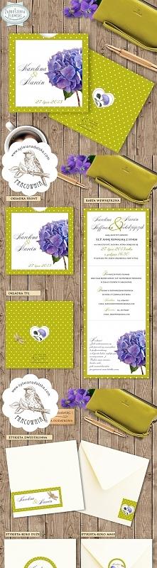 Zaproszenia Ślubne FLOWERS ...