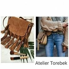 model torebki ala Chloe hudson fringe bags skóra naturalna Fb/ Atelier Torebe...