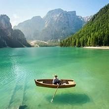 Jezioro Braies we Włoszech ☺