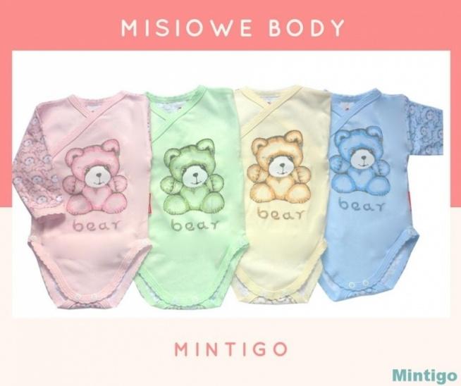 Body w śliczny, misiowy nadruk od polskiego producenta znajdziesz na moich aukcjach.  Szukaj mnie na allegro po nazwie użytkownika: mintigo