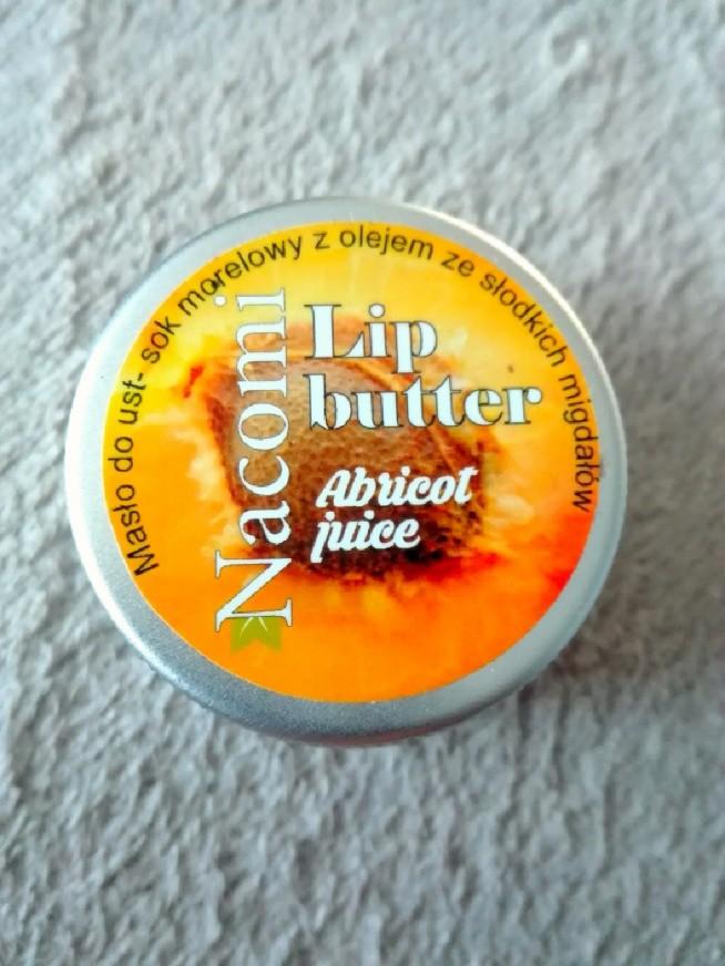 Masło do ust Nacomi.