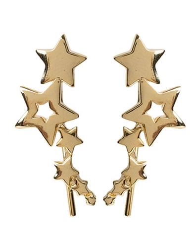 Delikatne, subtelne kolczyki nigdy nie wychodzą z mody. Brytyjska marka Orelia znana jest z wyrobów łączących minimalizm z wyrafinowaną formą. Doskonałym tego przykładem są oryginalne kolczyki gwiazdki. Wykonane są z pozłacanego metalu. Teraz kolczyki 40% taniej! fb/insta @wisebears.pl