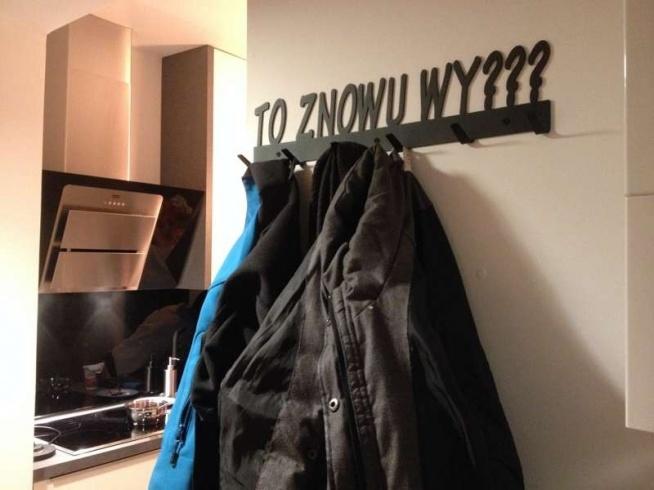 To znowu wy - wieszak na ubrania art-steel.pl