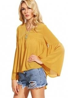 Super bluzka w stylu hippie...
