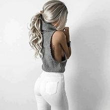 Białe jeansy - Kliknij w zdjęcie aby zobaczyć więcej
