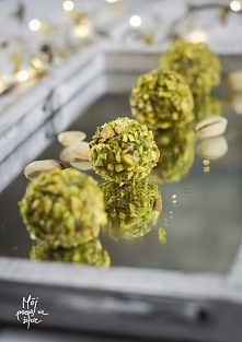 Trufle pistacjowe