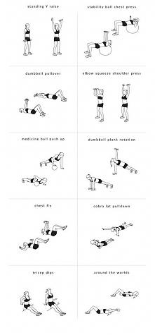 Trening na kształtny, jędrny i uniesiony biust