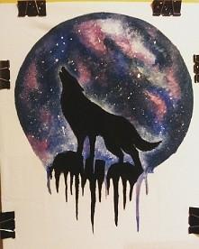 Malowany wilk