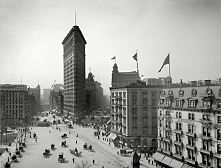 Flatiron Building New York City - 1905 r.