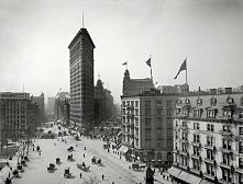 Flatiron Building New York City - 1905 r.