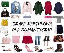 Szafa kapsułowa dla romantyczki. Wpis na blogu, link w komentarzu :)