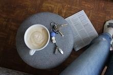 coffee + keyring