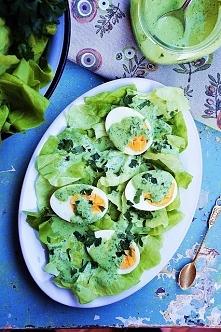 jajka w najlepszym sosie na świecie w wersji fit