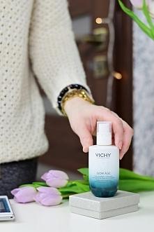 Vichy Slow Age, czyli krem-serum zapobiegające starzeniu się skóry! Więcej na blogu :)