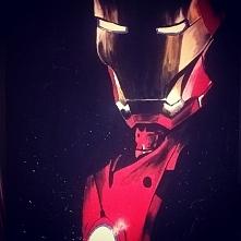 Pierwszy post na blogu. O etapach powstania obrazu Iron Man! :)  littlebird.b...