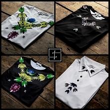 Rodżana i Płon to t-shirty od Slavini dostępne w wersji czarnej i białej. Ona zachwyca kolorami, on uwodzi prostotą - zobacz koszulki w pełnej okazałościm odwiedź sklep online.