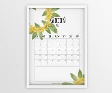 Darmowy kalendarz na kwiecień do pobrania :)