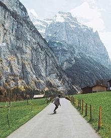 Lauterbrunnen, Szwajcaria :) Wygląda nieziemsko!