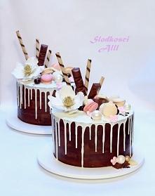 Drip cakes czyli kapiące torty