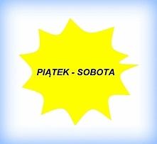 Dzisiaj mamy już przedostatni związek czyli Piąteku z Sobotą... :) Znacie pow...