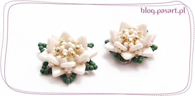 Broszka DIY - kwiatek z koralików - darmowy kurs tworzenia biżuterii :). To prostsze niż myślisz! Kliknij w zdjęcie i zobacz!